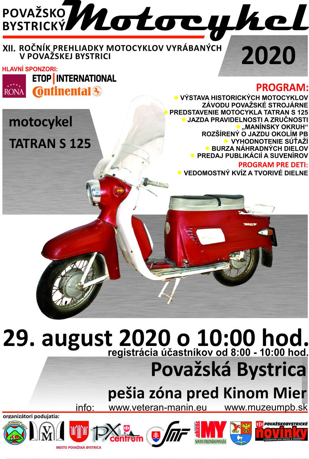 Považskobystrický-motocykel-plagát-2020-Tatran-S-125-2